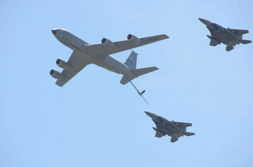 Wings over wayne refueling demonstration