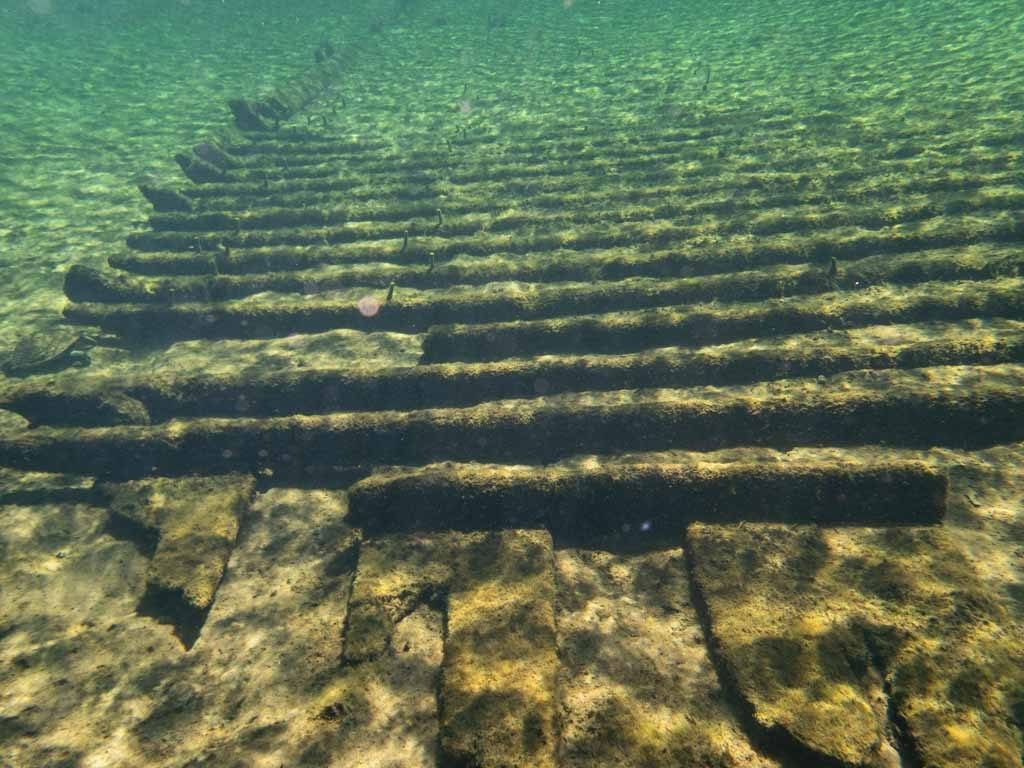 Underwater remains of Madison civil war steamship