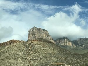 View of El Capitan in Guadalupe Mountains National Park