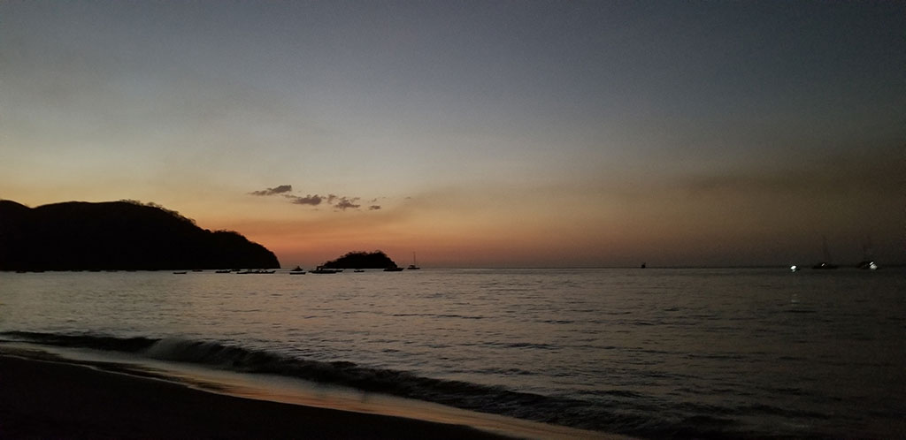 Sunset at Coco Beach