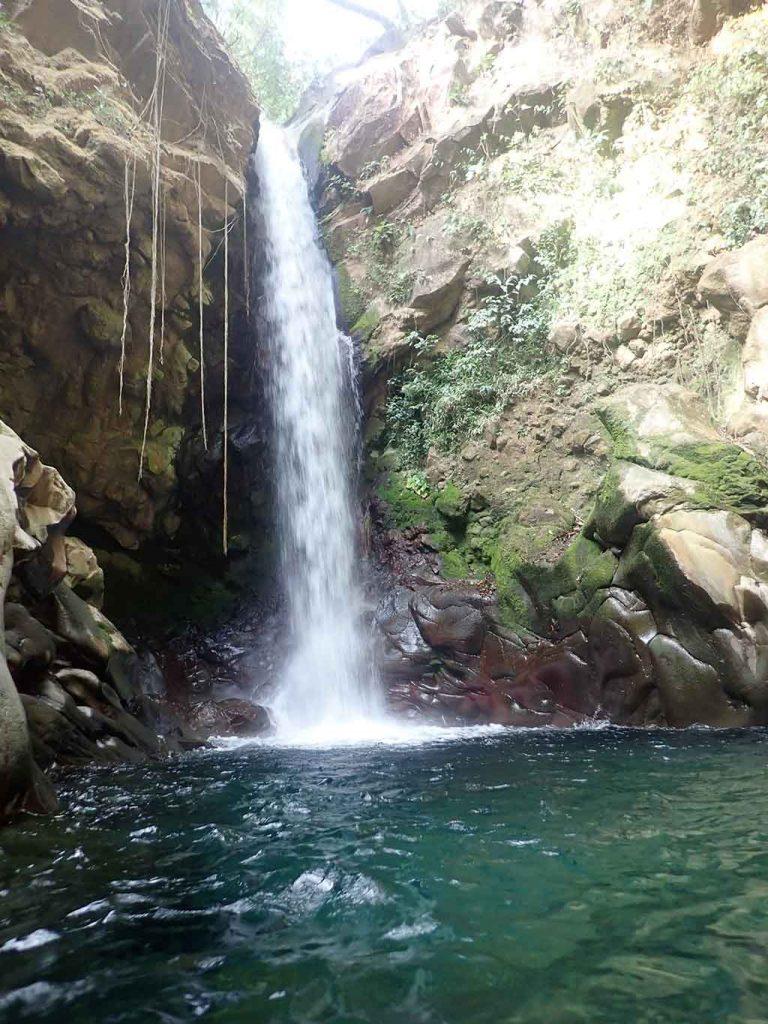 Waterfall outside Ricon de la Vieja